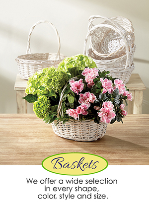 Floral Baskets | Giftwares Company Inc.