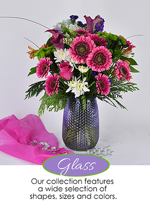 Glass Floral Vases | Giftwares Company Inc.